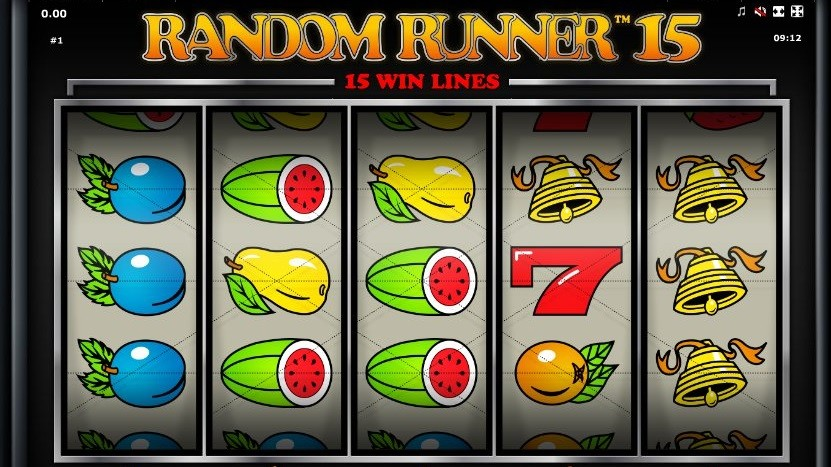 Random Runner 15 fruit videoslot